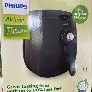 Phillips black original air fryer
